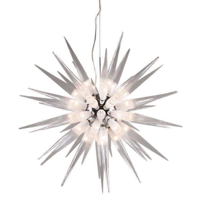 Lampa-wisząca-White-Sun-45-źródeł-światła