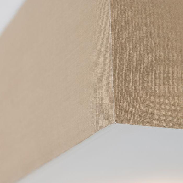 Plafon-Drum-35-kwadratowy-beżowy