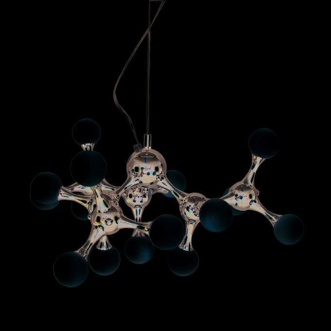 Lampa-wisząca-Globo-mini-15-chrom