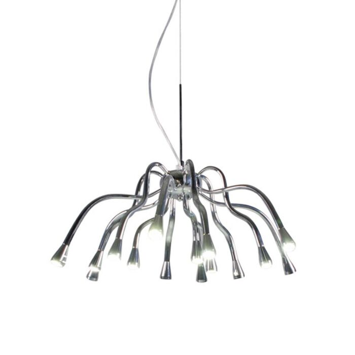 Lampa-wisząca-Angeline-LED-chrom