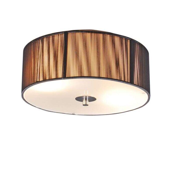 Klasyczna-lampa-sufitowa-antracytowa-30-cm---Lina