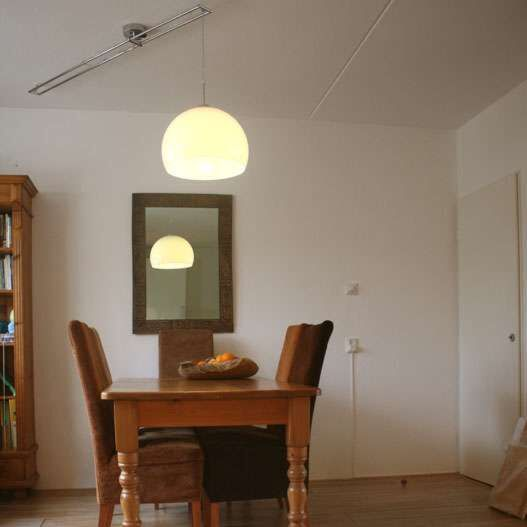 Lampa-wisząca-Decentra-Delux-chrom-biały-klosz