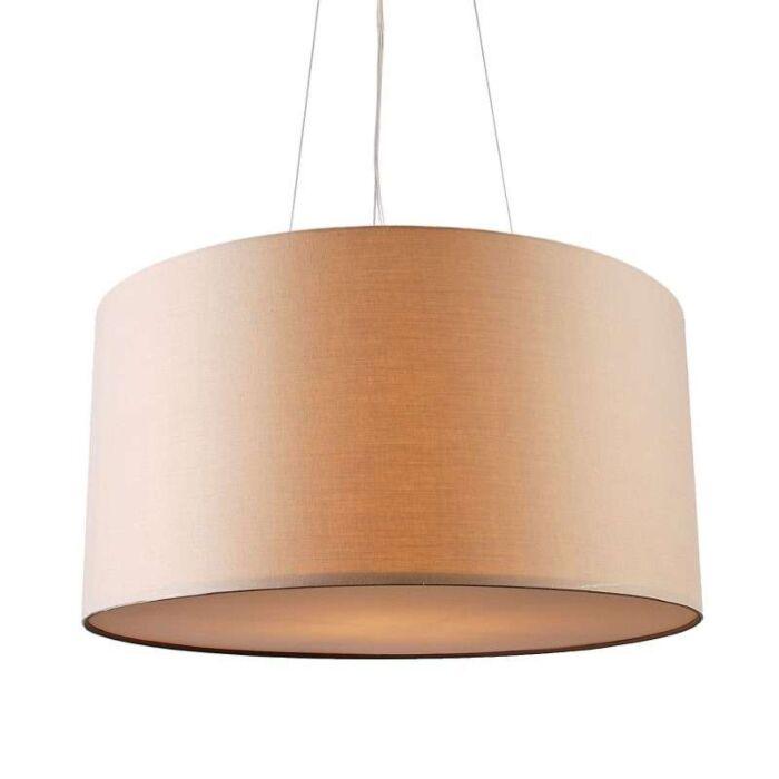 Lampa-wisząca-Drum-60-beżowa