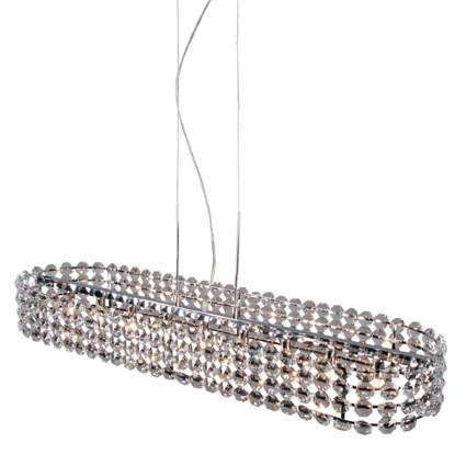 Lampa-wisząca-Monza-owalna-szkło-kryształowe