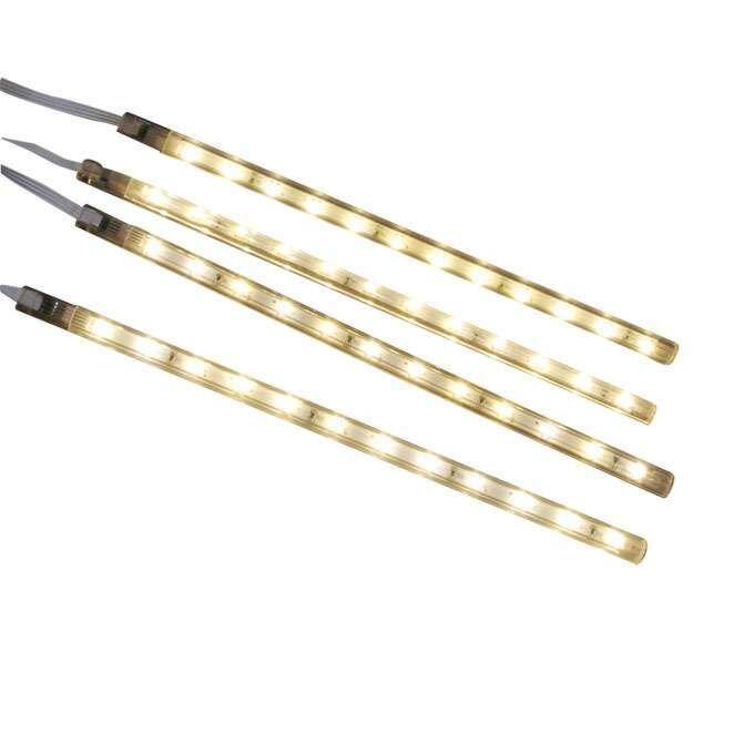 Zestaw-czterech-taśm-LED-ciepło-biała