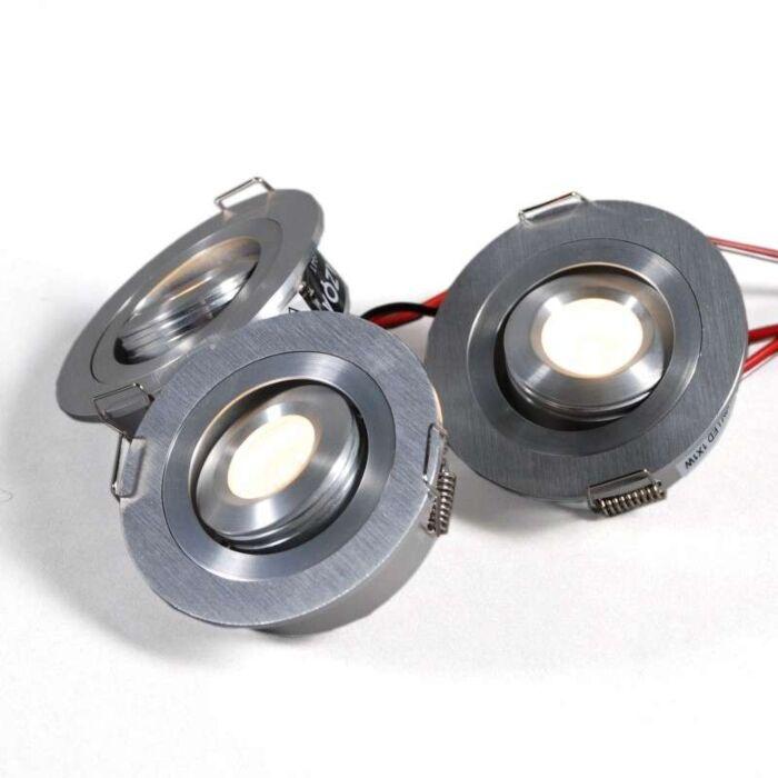 Zestaw-opraw-do-wbudowania-Lumiled-3-x-1W-aluminium