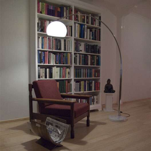 Duża-lampa-podłogowa-łuk-chrom-Basic