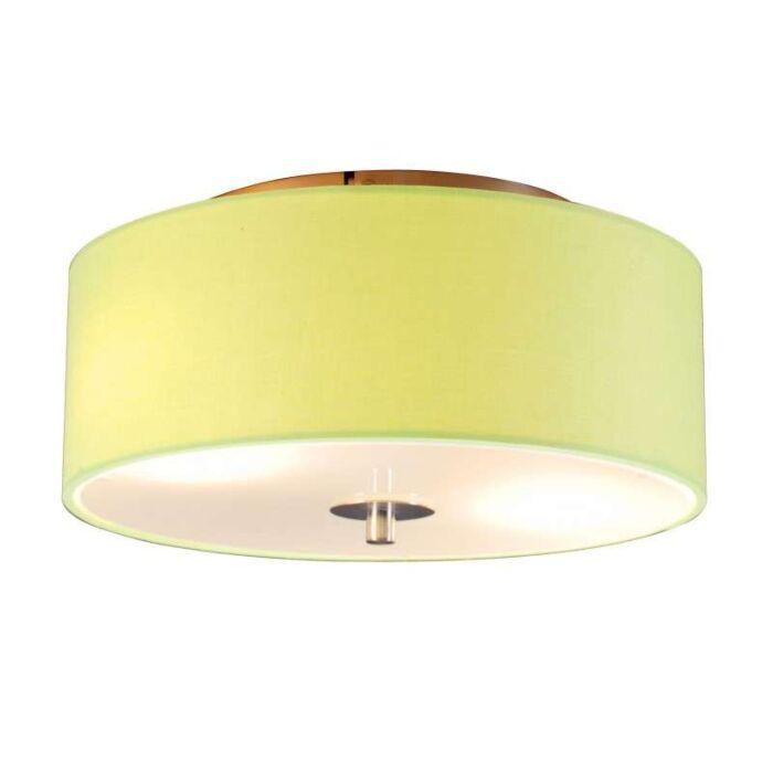 Plafon-Drum-30-okrągły-limonkowa-zieleń