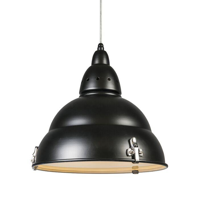 Lampa-wisząca-Factory-czarna