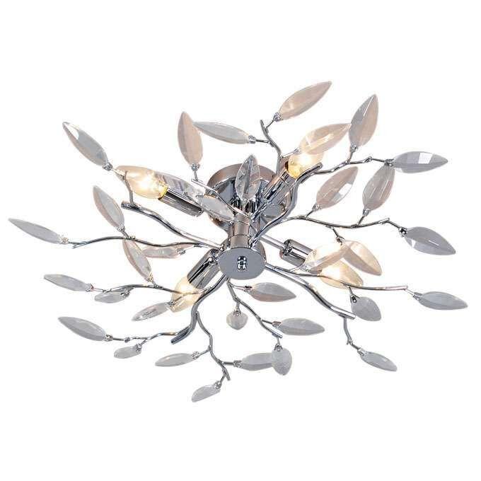 Plafon-Forest-4-szkło-chrom