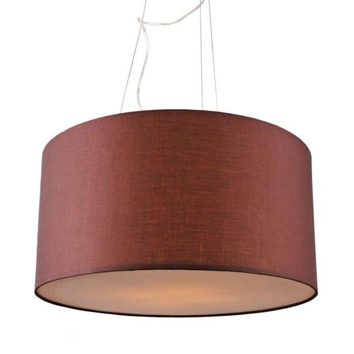 Lampa-wisząca-Drum-60-brązowa