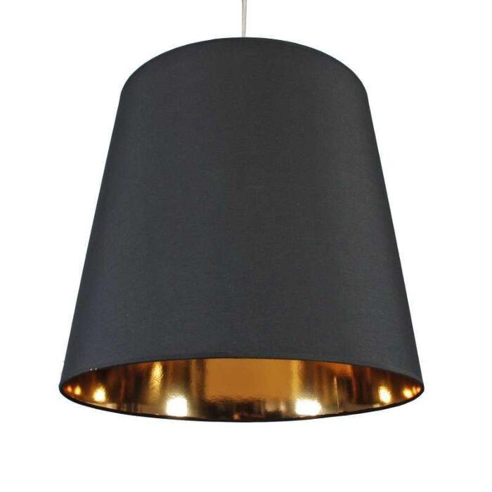 Lampa-wisząca-Shade-czarno-złoty