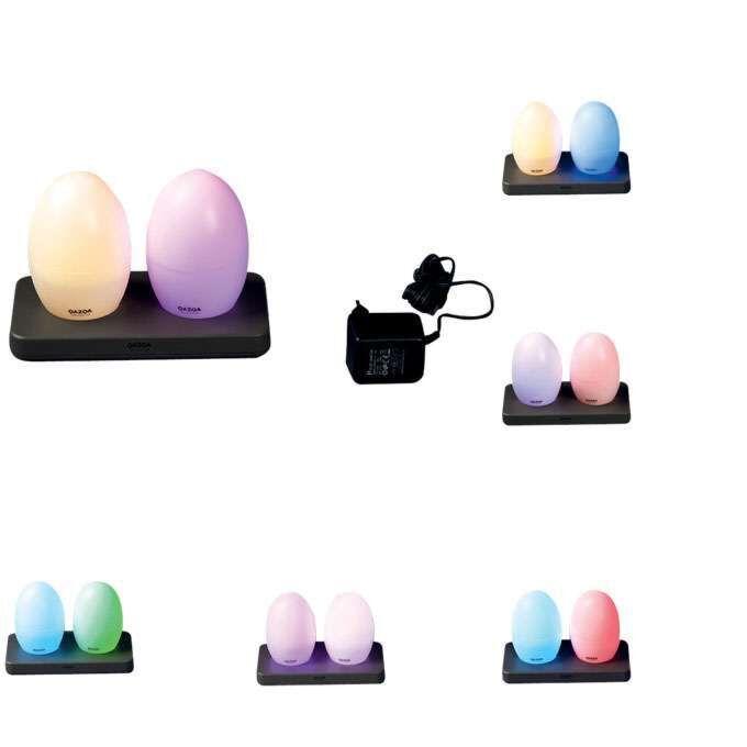 Zestaw-dwóch-ładowanych-lamp-EGG-LED