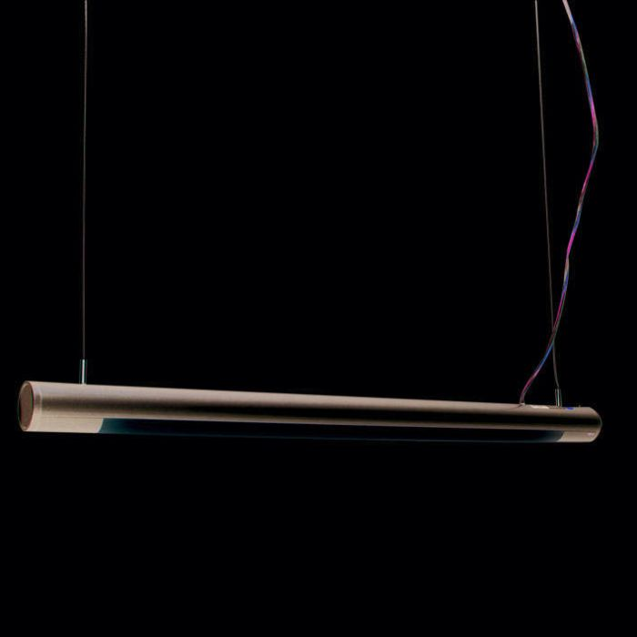 Lampa-wisząca-Tube-O-srebrna-21W