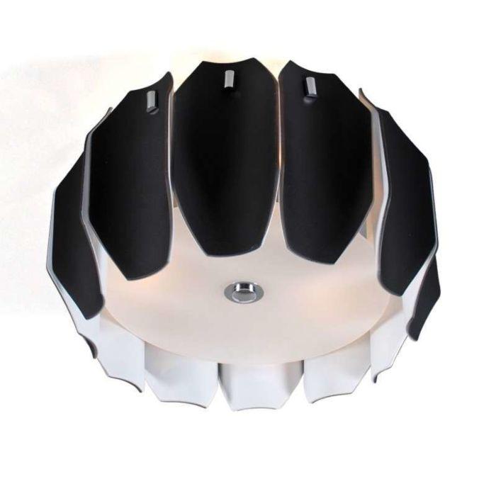 Plafon-Archo-40-chrom---czarny