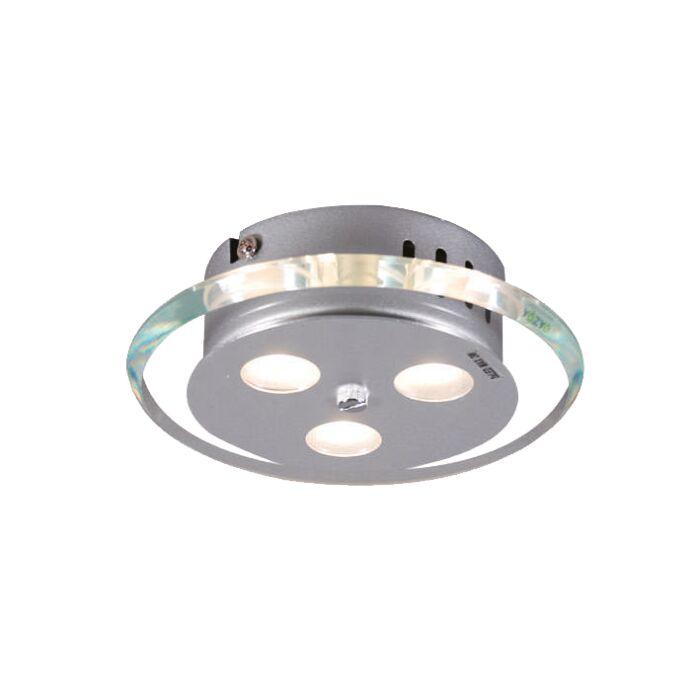 Plafon-Credo-okrągły-19-LED-przezroczysty