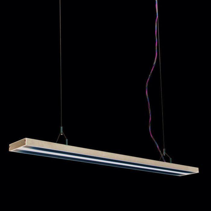Lampa-wisząca-Tube-S-czarna-2-x-28W