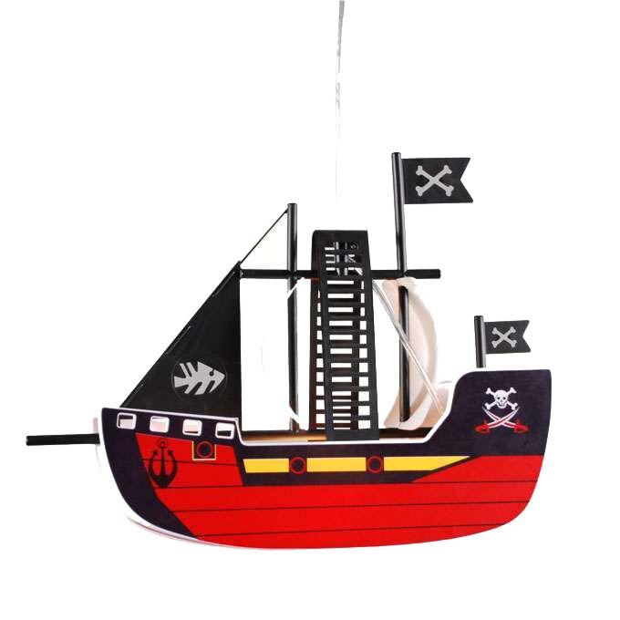 Lampa-wisząca-Kids-Piracki-statek