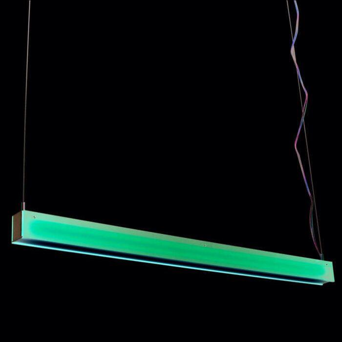 Lampa-wisząca-Tube-R-czerwona-28W