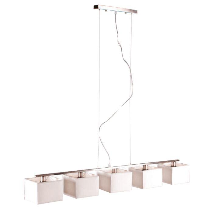 Lampa-wisząca-VT-5-biała