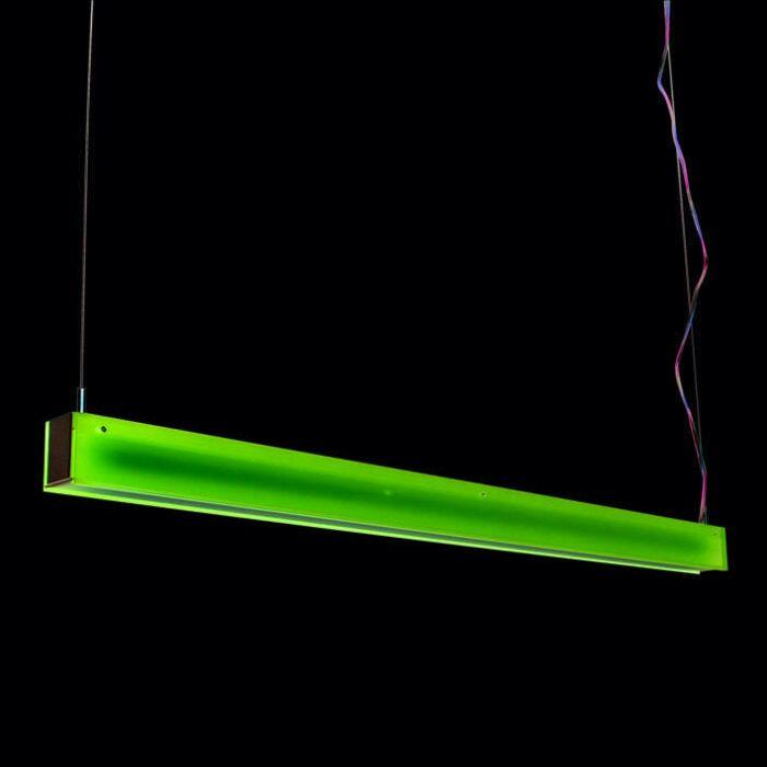 Lampa-wisząca-Tube-R-fioletowa-28W