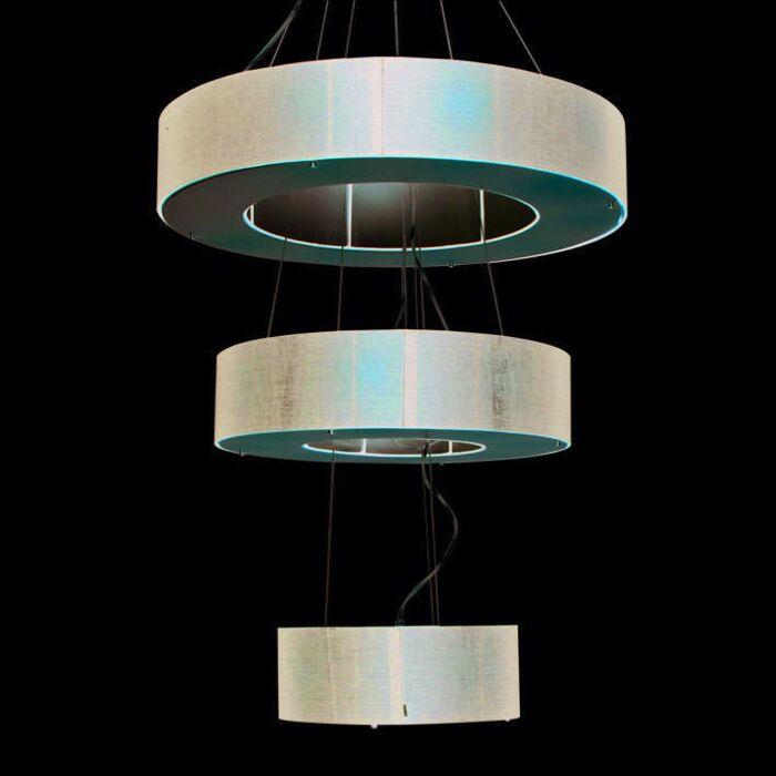 Lampa-wisząca-Drum-Open-3-warstwy-czarna