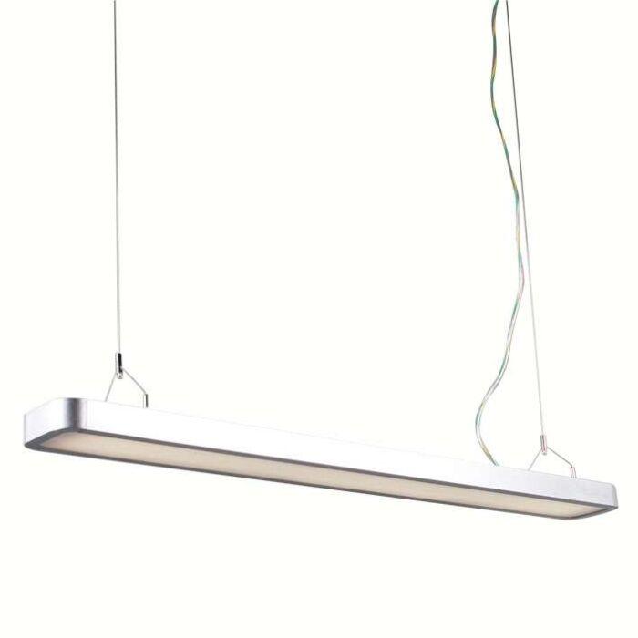 Lampa-wisząca-Tube-U-2-x-28W-srebrna