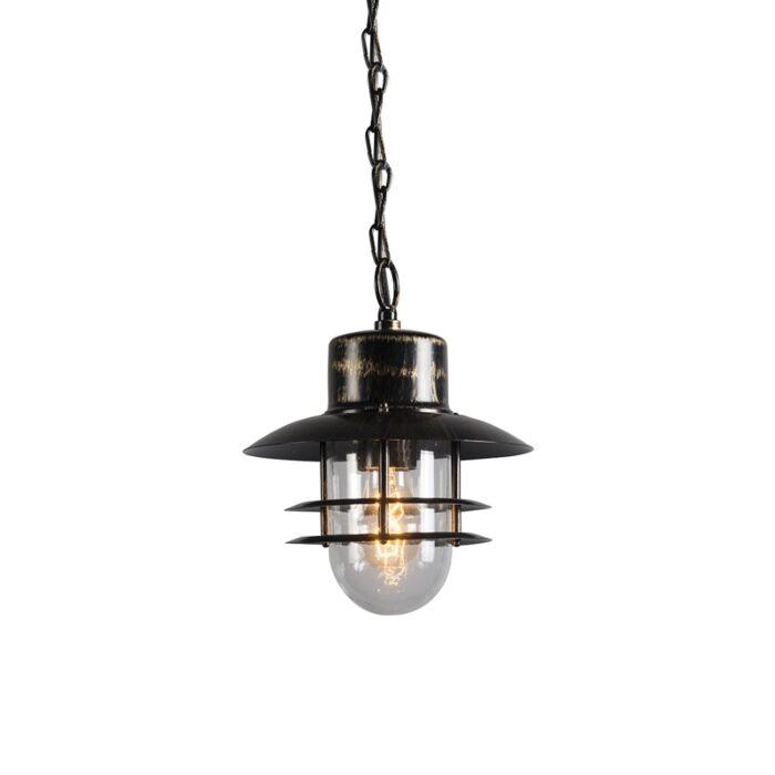 Retro-lampa-wisząca-brąz---Shell