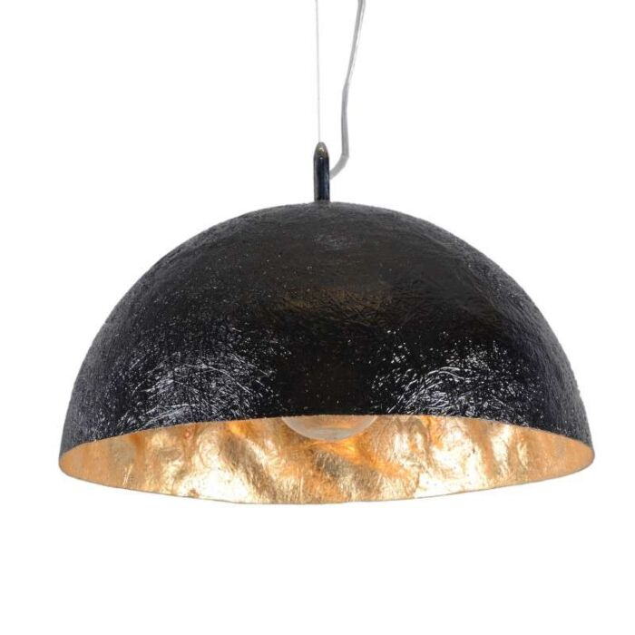 Lampa-wisząca-Magna-40-czarno-złota