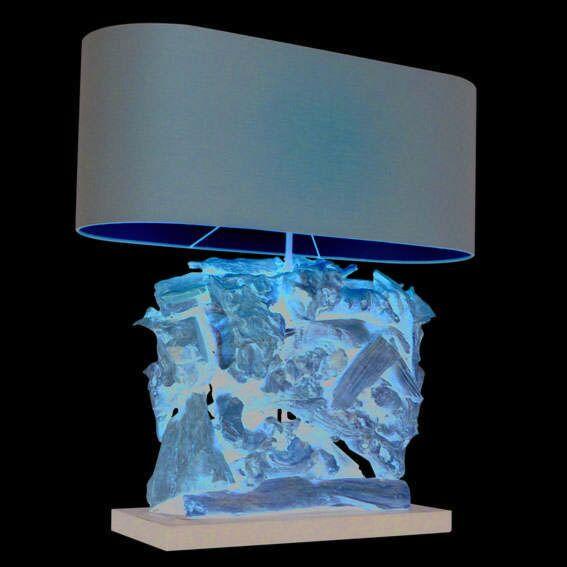 Lampa-stołowa-Raman-Recta-naturalna-brązowy-klosz