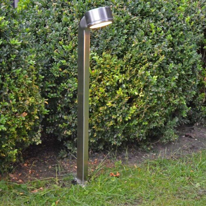 Lampa-zewnętrzna-Snake-68cm-stal-nierdzewna