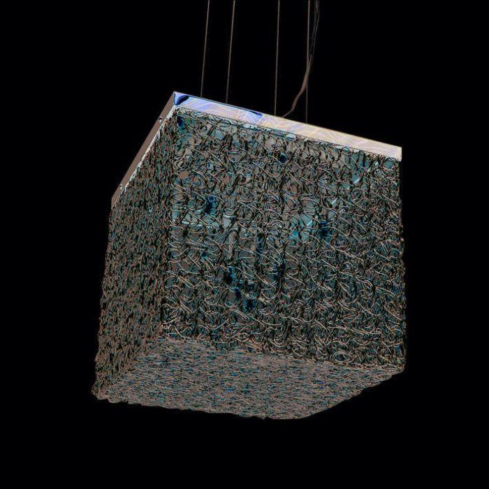 Lampa-wisząca-Draht-Square-10-aluminium