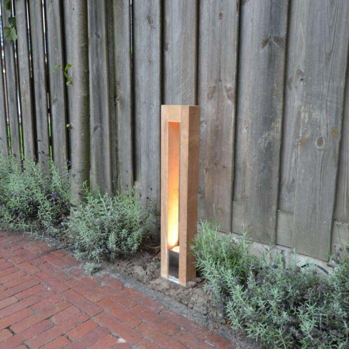 Lampa-zewnętrzna-Pontis-70-drewno-tekowe