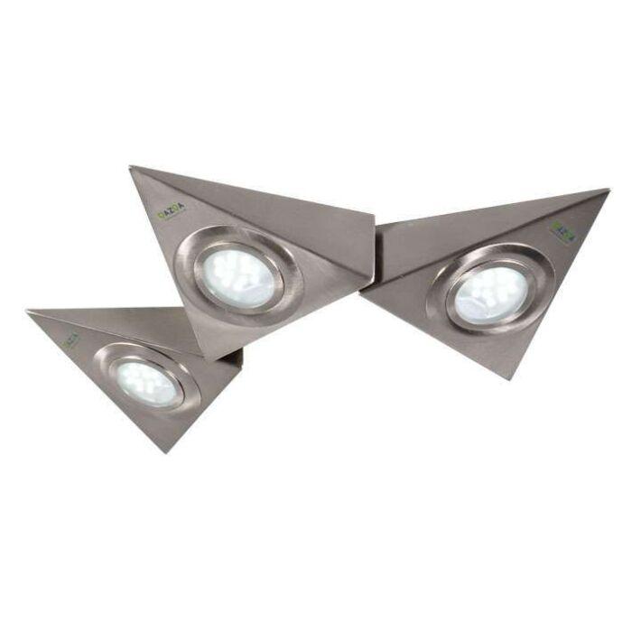 Zestaw-3-opraw-podszafkowych-Teun-trójkąty-LED