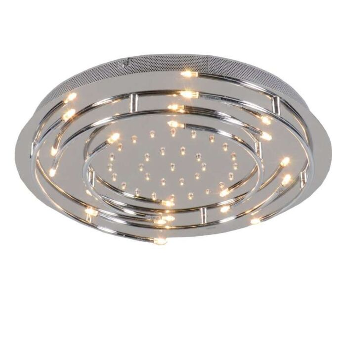 Plafon-Aro-LED-chrom