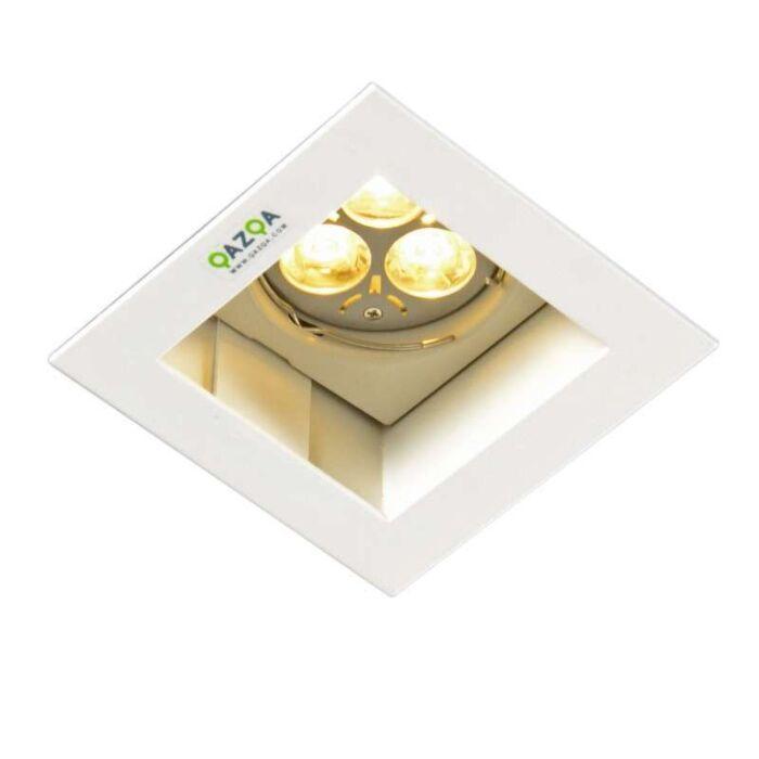 Oprawa-do-wbudowania-Diego-II-kwadratowa-biała