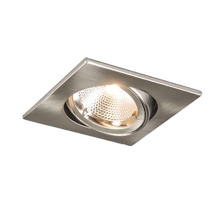 Oprawa-do-wbudowania-Safe-kwadratowa-stal-6W-LED