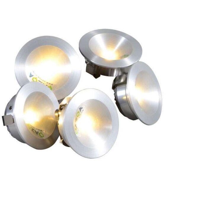 Zestaw-opraw-do-wbudowania-Niek-5-x-1W-LED-aluminium