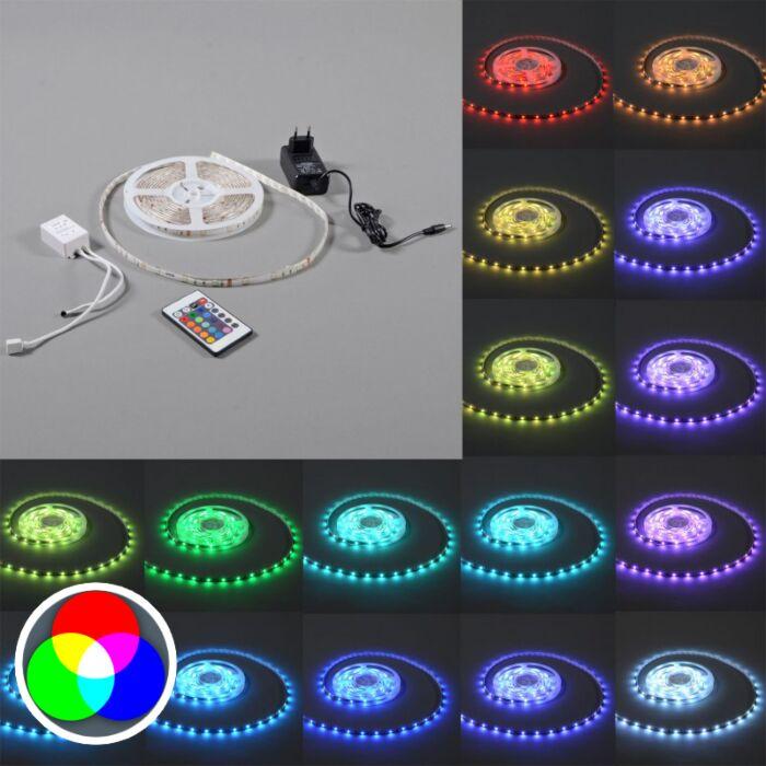 Elastczna-taśma-LED-RGB-IP20-5-metrów
