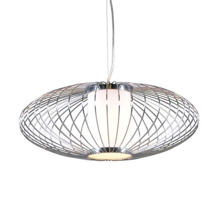 Lampa-wisząca-Wire-Pumkin-50-chrom