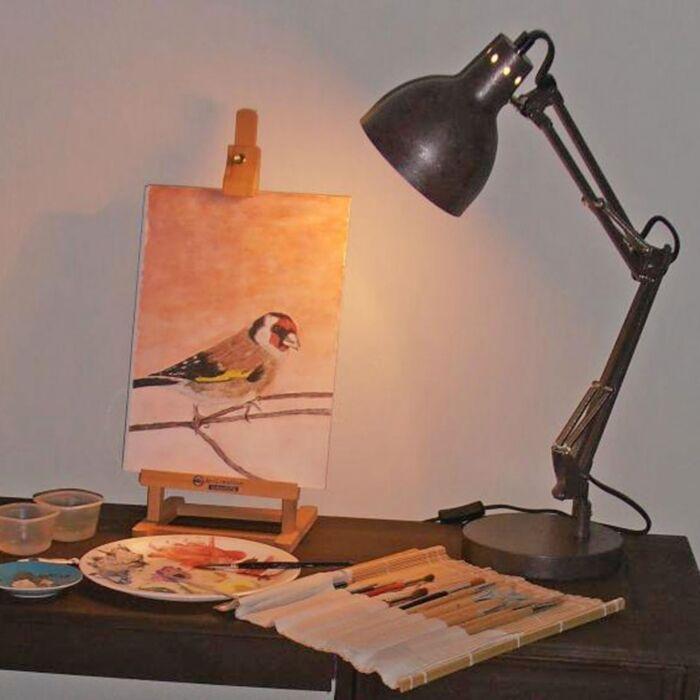 Lampa-stołowa-Mesa-antyk