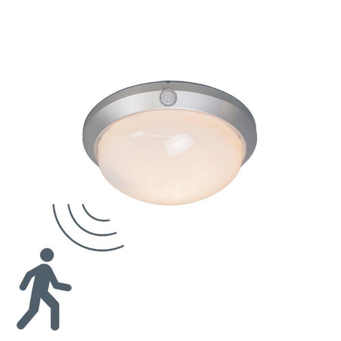 Plafon-Motion-I-srebrno-szary-z-czujnikiem-ruchu-na-podczerwień
