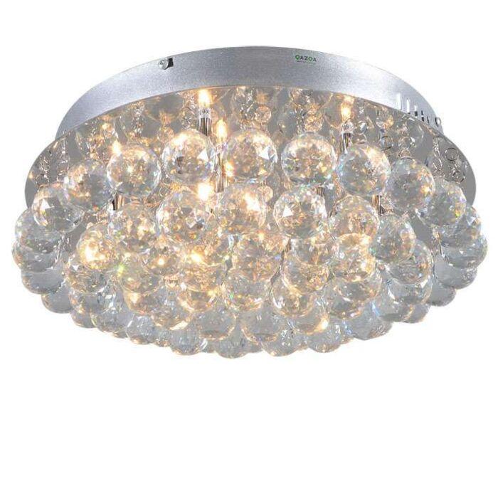 Plafon-Diamond-40cm-chrom