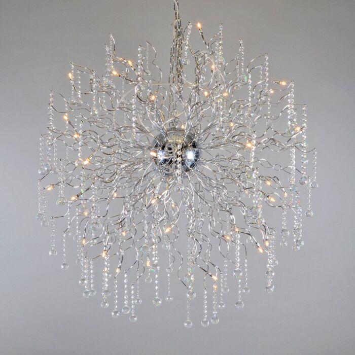 Lampa-wisząca-Berlioz-110cm-chrom
