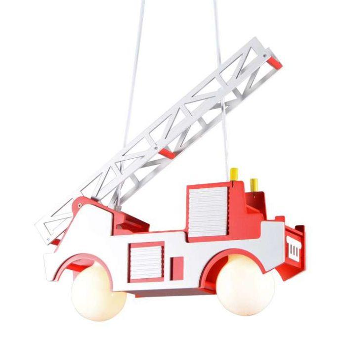 Lampa-wisząca-Kids-wóz-strażacki