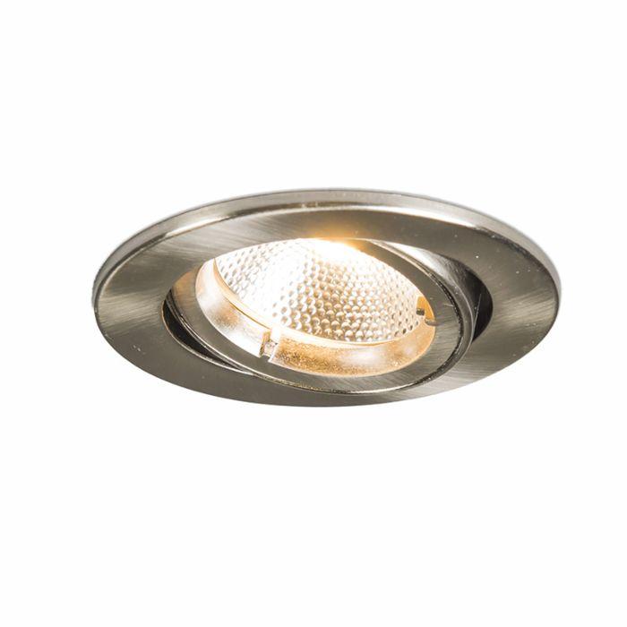 Oprawa-do-wbudowania-Safe-okrągła-stal-6W-LED