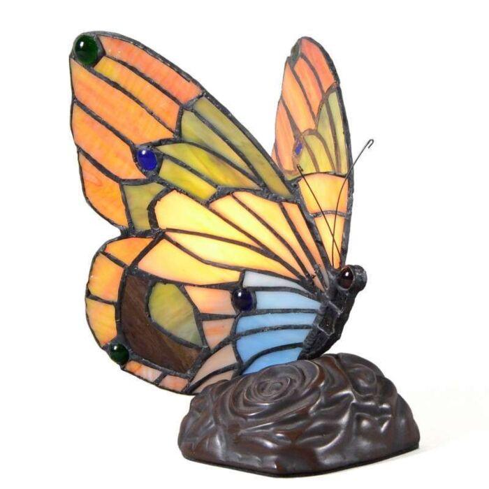 Tiffany-lampa-stołowa-Butterfly
