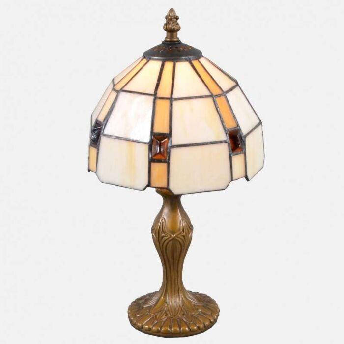 Tiffany-lampa-stołowa-Liddesdale-mała