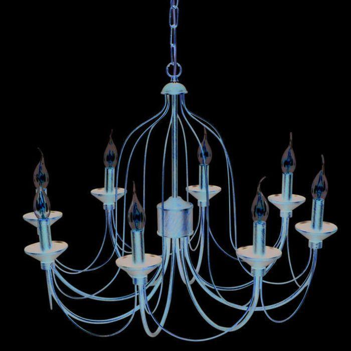 Żyrandol-Luino-8-źródeł-światła-rdza