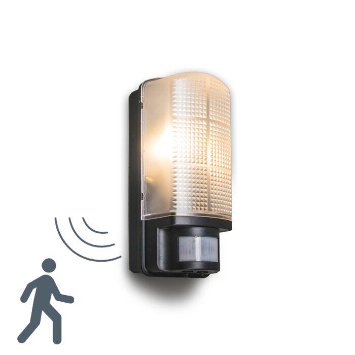 Lampa-zewnętrzna-Mossa-z-czujnikiem-ruchu-czarna